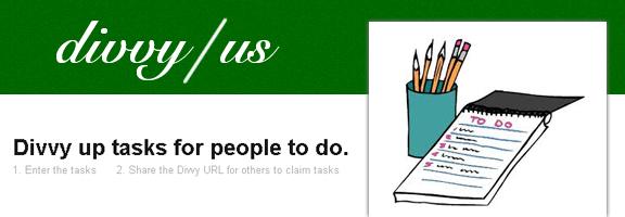 Divvyus.com – Administering Shared Tasks