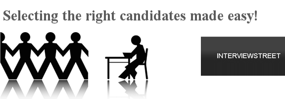 InterviewStreet.com – Finding The Right Candidates