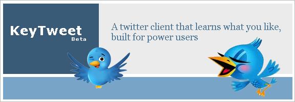 KeyTweet.com – Ensure The Relevancy Of Tweets