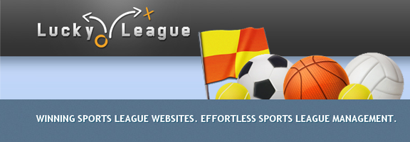 LuckyLeague.com – For Managers Of Sports Teams