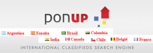 ponup.com - international classifieds search engine