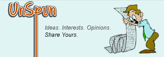 Unspun.com – Share your ideas, interests and opinions