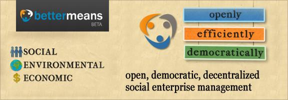 Bettermeans.com – Democratic Collaborative process