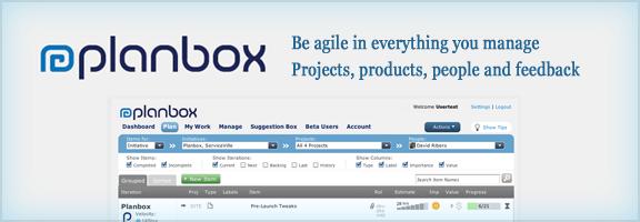 Planbox.com – Agile Project Management Software