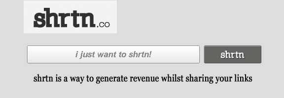 Shrtn.co – New way to earn while you share