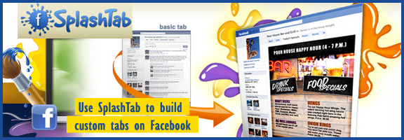 Splashtab.com – Create your own facebook page tabs