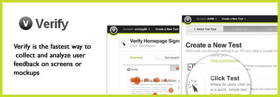 Verifyapp.com – User Feedback and concept testing