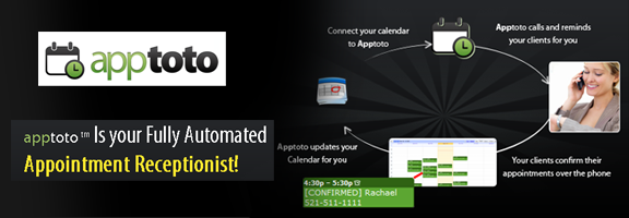 Apptoto.com – Call reminder application