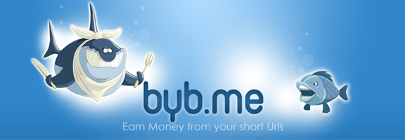 Byb.me – Earn Money From URL Shortner Service