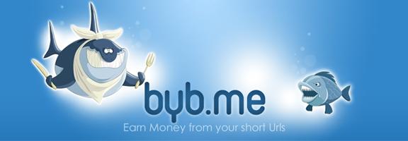 Byb.me – Earn Money From URL Shortner Service