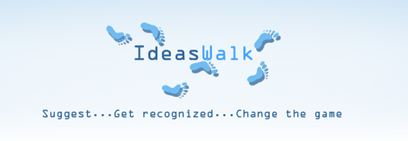 Ideaswalk.com – Suggest and get recognized