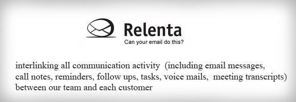 Relenta.com – Small Business CRM