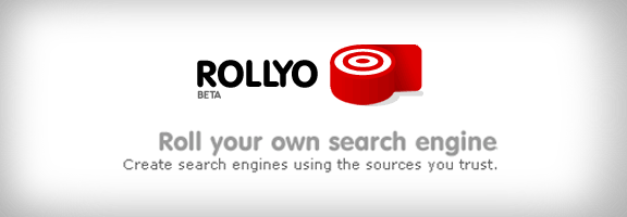 Rollyo.com – Roll your own search engine