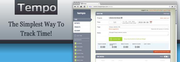 Keeptempo.com – Easy way to track time