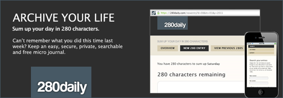 280daily.com –Accept your challenge