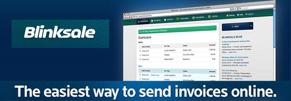 Blinksale.com- Online Invoice Service