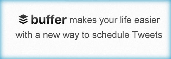 Bufferapp.com –Twitter scheduling tool