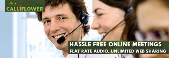 Calliflower.com –Hassle free online meetings