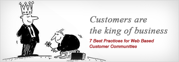 7 Best Practices for Web based Customer Communities