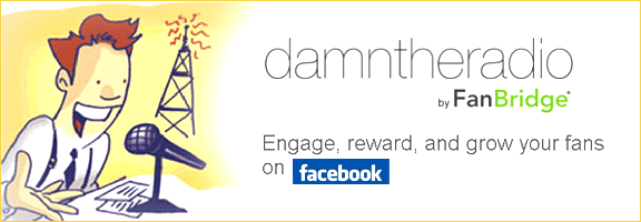 Damntheradio.com – Media rich facebook page