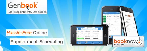 Genbook.com – Free online scheduling tool