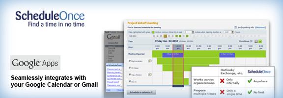 Scheduleonce.com – Online meeting scheduler