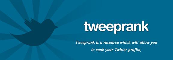Tweeprank.com – Twitter Profile Ranking