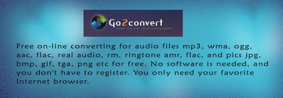 Go2convert.com – Online file converter