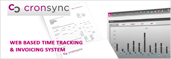 Cronsync.com – Exclusive Time tracking and Accounting