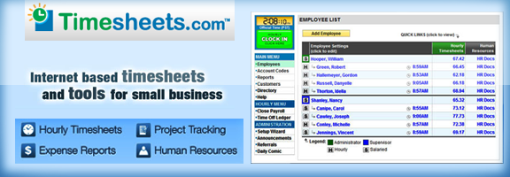 Timesheets.com – Innovative Time Tracking