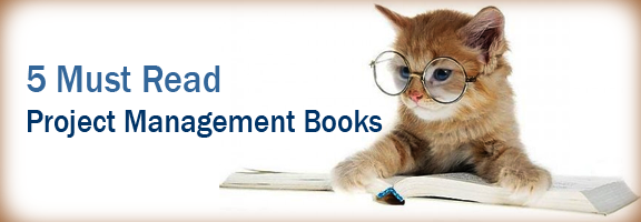 5 Must Read Project Management Books