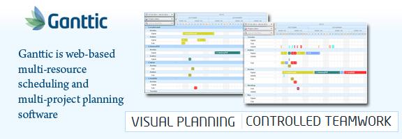 Ganttic.com – Visual Resource Planning