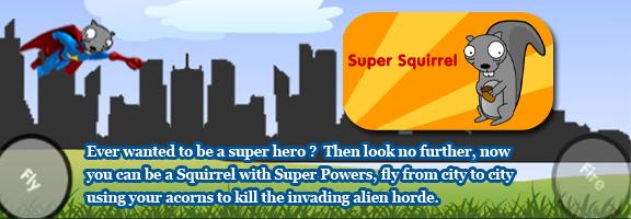 Super Squirrel- Challenging iphone Game