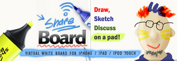 Share Board – To Draw, Sketch and Share