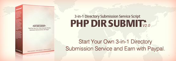 PHP Dir Submit Review – Unique 3-in-1 Directory Submission Service Script