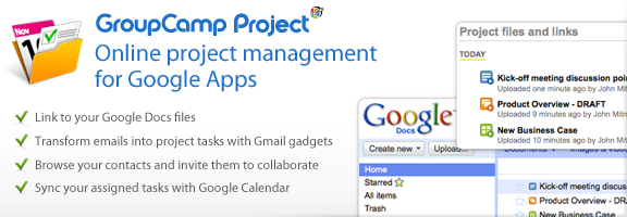 Groupcamp.com – Collaboration Software to Manage Projects