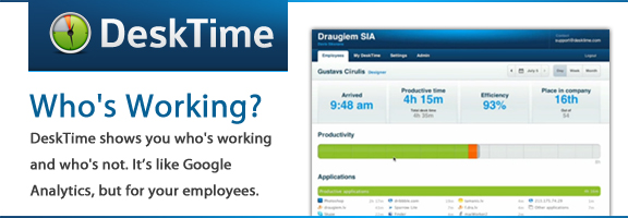 Desktime.com – Time Tracking Tool for Business