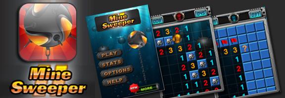 Mine Sweeper II – iPhone Game for Refreshment