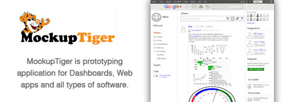 Mockuptiger.com – Prototyping Web App for Mockups