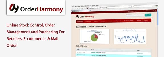 Orderharmony.com – Efficient Way for Online Stock Control