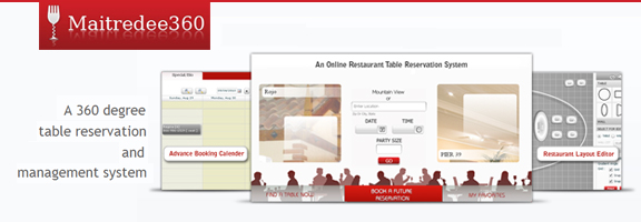 Maitredee360.com – Flexible Table Reservation Software