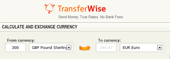 TransferWise.com – Online Money Transfer