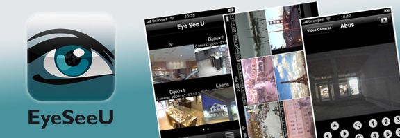 EyeSeeU – Powerful Video Surveillance App for iPhone
