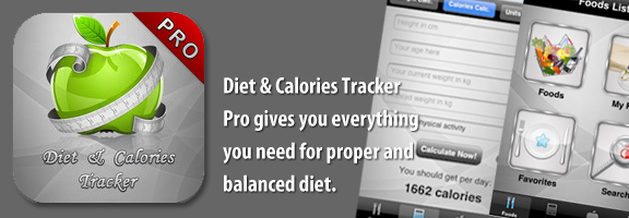 Diet & Calories Tracker Pro – Must Have Fitness App