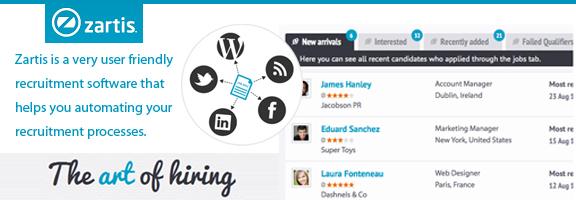 Zartis.com – Clever Choice for Recruiting Staffs