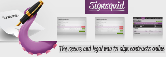 Signsquid.com – Safe and Secure Online Sign Contracts