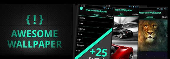 Awesome Wallpaper – Cool App for Elegant Wallpapers