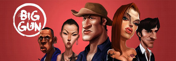 Big Gun – iOS Fun Gangster Game from 9thQ Entertainment