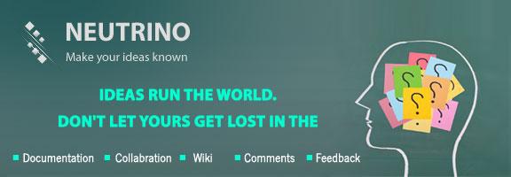 Getneutrino.com – Web App for Idea Tracking