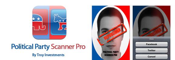 Political Party Scanner Pro – Entertaining iOS App